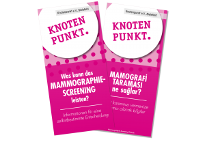 Flyer Titelbild – Mammographie Screening